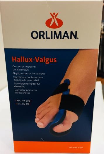 HALLUX VALGUS ORLIMAN